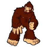 Ausmalbilder Bigfoot
