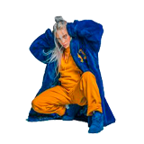 Ausmalbilder Billie Eilish