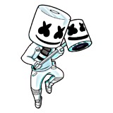 Ausmalbilder Fortnite Marshmello