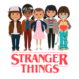 Ausmalbilder Stranger Things