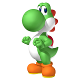 Coloriages Yoshi