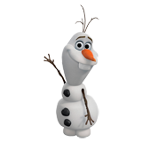 Coloriages Frozen Olaf