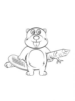 Beaver-coloring-pages-1