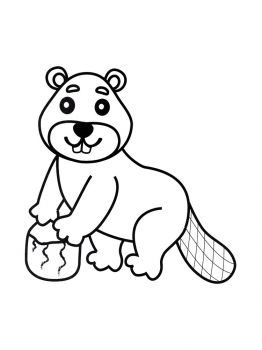 Beaver-coloring-pages-3