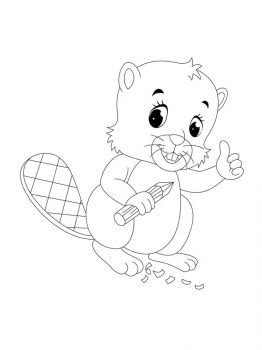 Beaver-coloring-pages-9