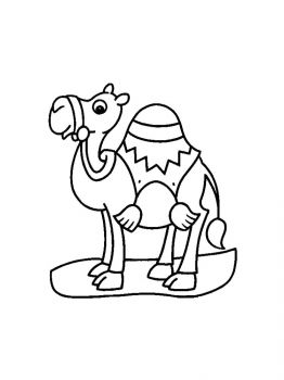 Camel-coloring-pages-3