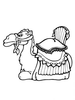 Camel-coloring-pages-4