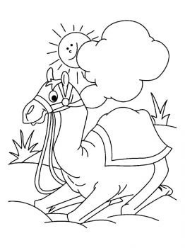 Camel-coloring-pages-6
