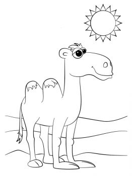 Camel-coloring-pages-9