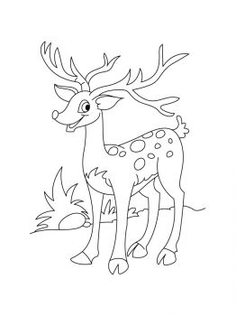 Deer-coloring-pages-11