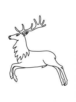 Deer-coloring-pages-7