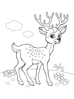 Deer-coloring-pages-8