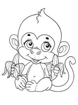 Monkey-animal-coloring-pages-344