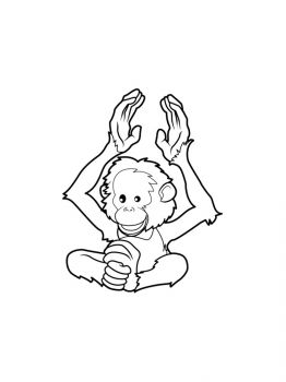 Monkey-coloring-pages-12