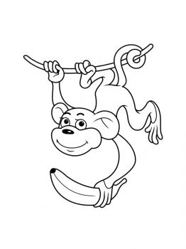 Monkey-coloring-pages-4