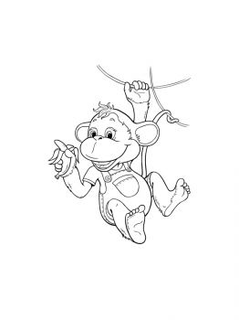 Monkey-coloring-pages-7