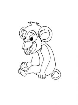 Monkey-coloring-pages-9