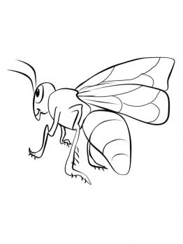 coloring-pages-animals-bee-14