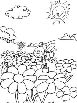 coloring-pages-animals-bee-3