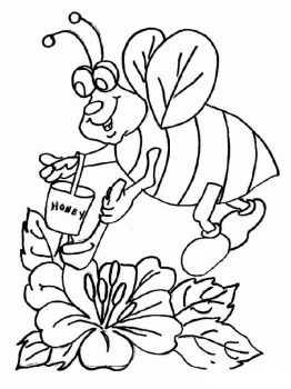 coloring-pages-animals-bee-9