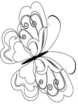 coloring-pages-animals-butterfly-10