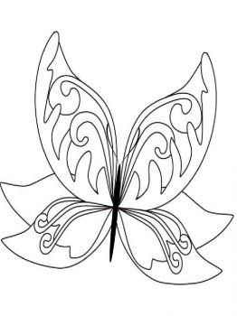 coloring-pages-animals-butterfly-24