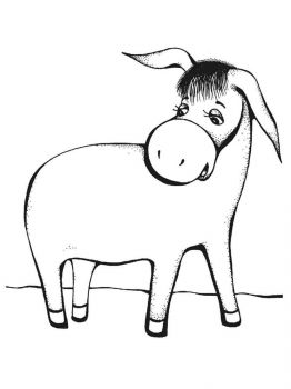 donkey-coloring-pages-1