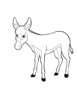 donkey-coloring-pages-10