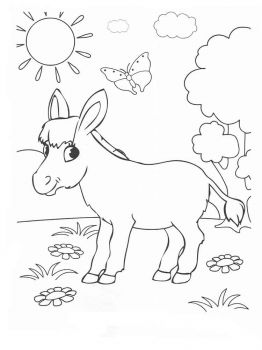donkey-coloring-pages-12