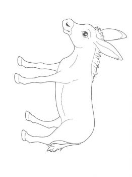 donkey-coloring-pages-8