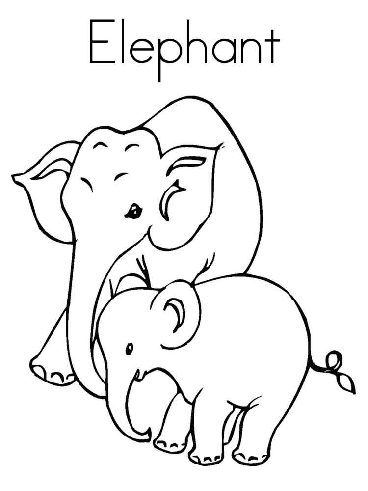 malvorlagen elefanten ausdrucken  malvorlagen kinder