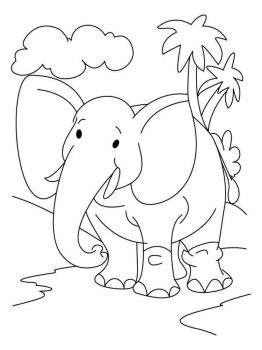 coloring-pages-animals-elephant-9