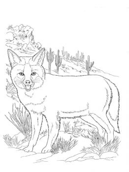 coloring-pages-animals-fox-9