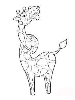 coloring-pages-animals-giraffe-5