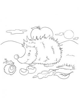coloring-pages-animals-hedgehog-4