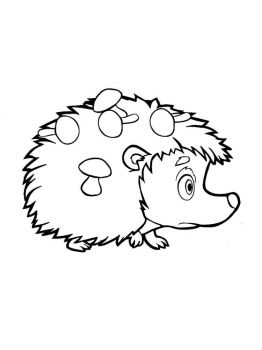 coloring-pages-animals-hedgehog-5
