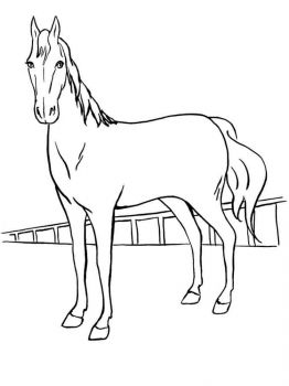 coloring-pages-animals-horse-26