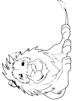 coloring-pages-animals-lion-11