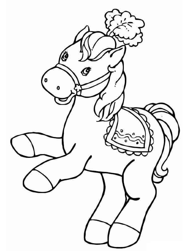 ausmalbilder pony  malvorlagen kostenlos zum ausdrucken