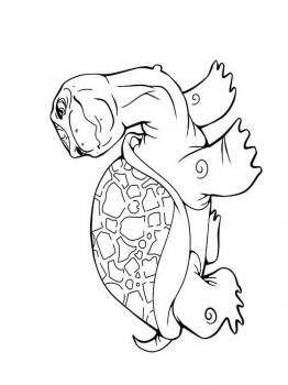 coloring-pages-animals-turtles-19