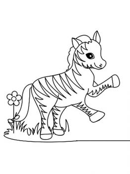 coloring-pages-animals-zebra-4