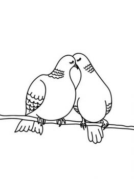 Doves-birds-coloring-pages-7