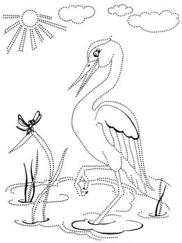 Egrets-birds-coloring-pages-1