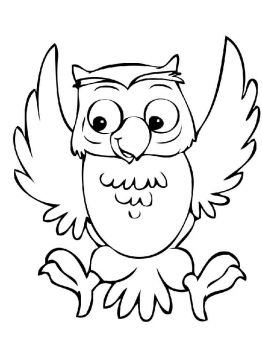 coloring-pages-animals-owl-5