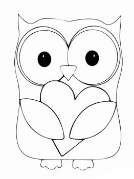 coloring-pages-animals-owl-7