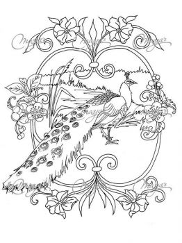 coloring-pages-animals-peacock-2