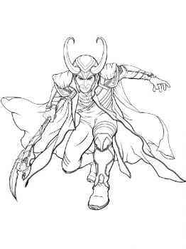 Avengers-Loki-coloring-pages-11