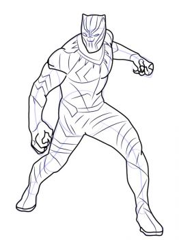 Black-Panther-coloring-pages-12