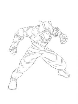 Black-Panther-coloring-pages-2