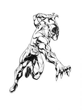 Black-Panther-coloring-pages-3